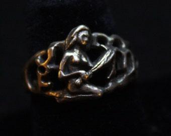 Virgo  - Sterling Silver Ring