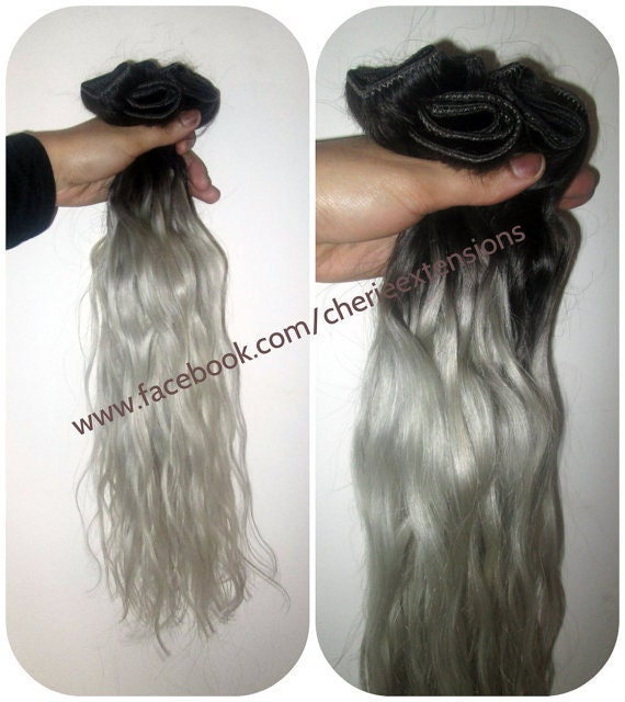 Sale ombre balayage human hair extensions full head weft 120g like this item pmusecretfo Image collections