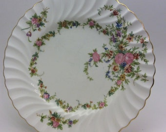 Mintons Lorraine Salad Plate Imprinted With Minton