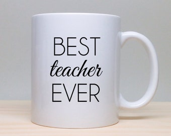 Popular Items For The Best Teachers On Etsy