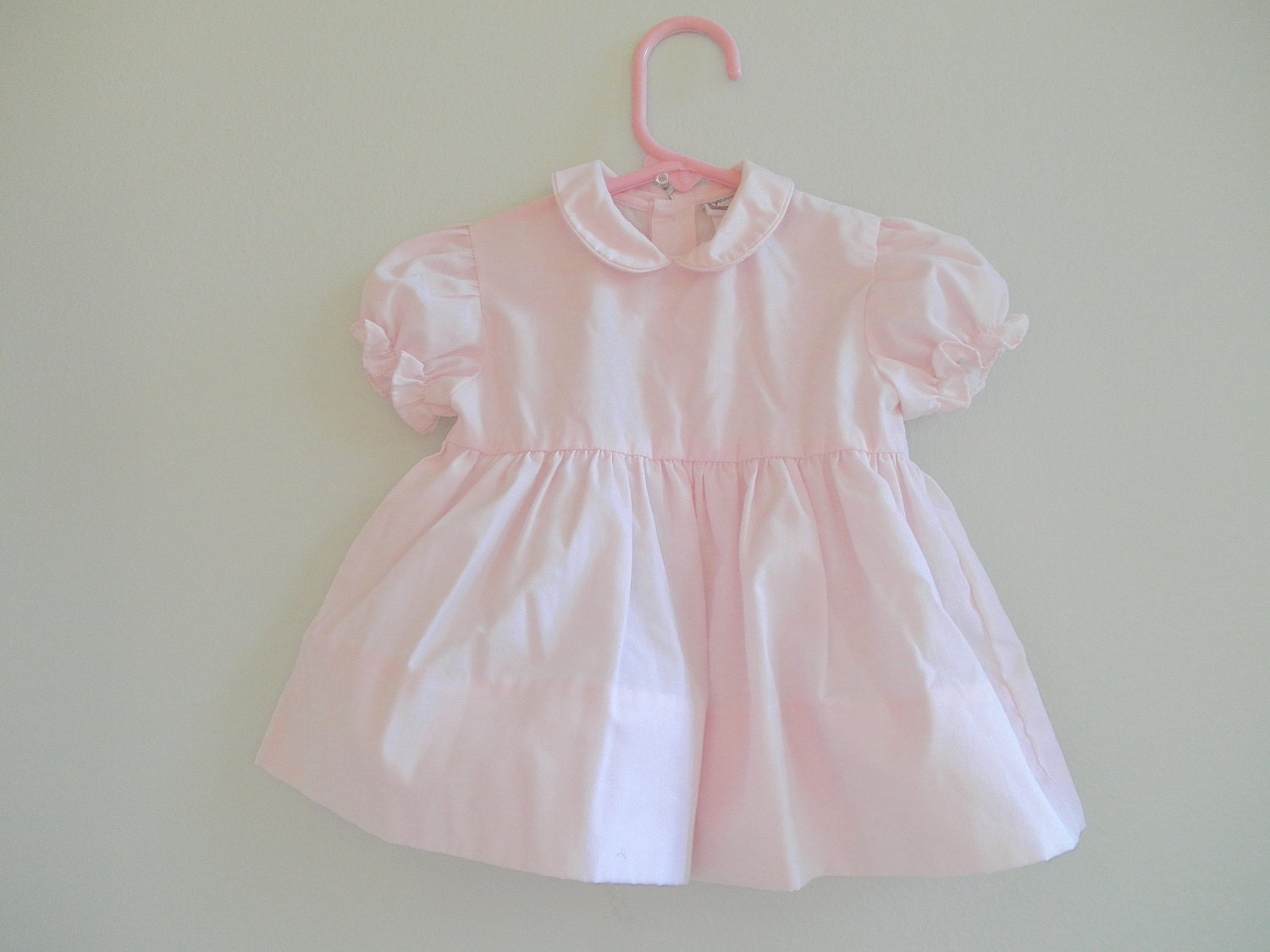 Baby Girls Dress Size 3 to 6 Month Vintage Baby Clothing