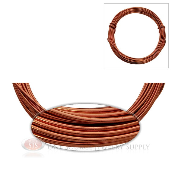 rose gold aluminum 12 gauge craft wire for wrapping wire