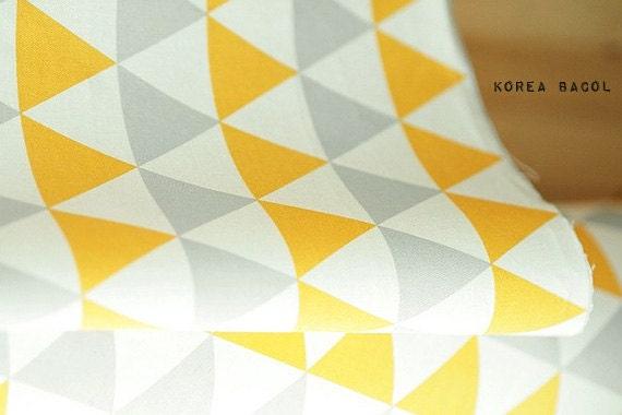triangle nordique scandinave tissu tissu 62 x 35 100. Black Bedroom Furniture Sets. Home Design Ideas