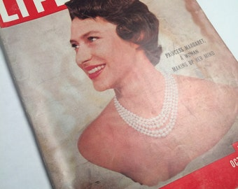 Life Magazine with Princess Margaret on the Cover 1955