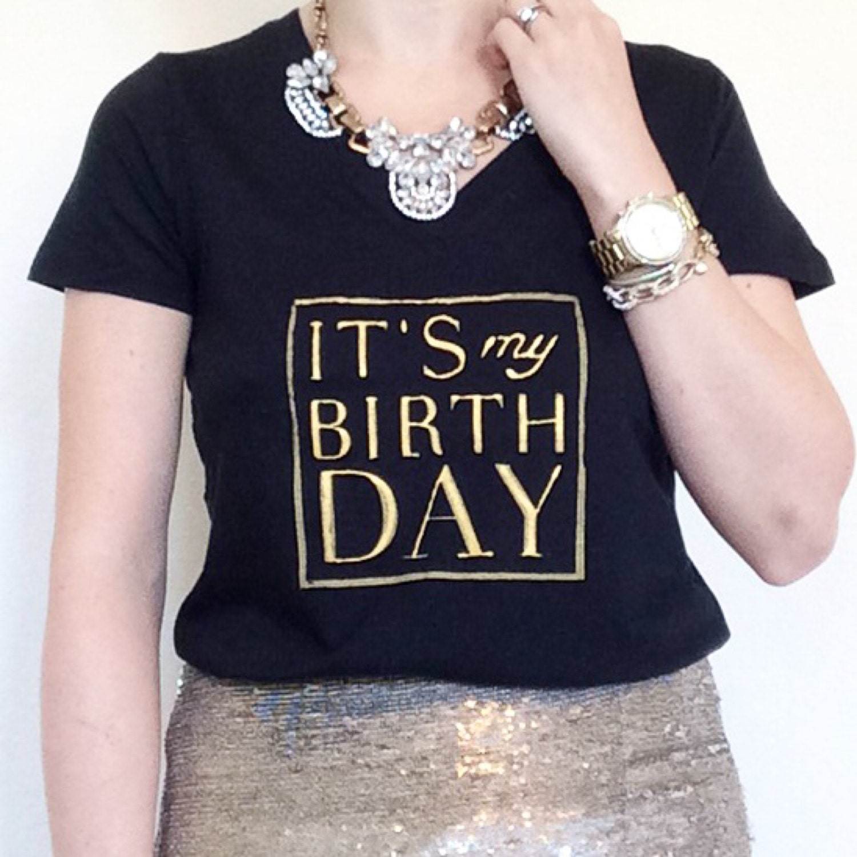 I2 It's My Birthday Tee Birthday Girl Tee Birthday
