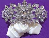 Bride Wedding Crown, Crystal Tiara, Rhinestone Tiara, Wedding Tiara, Diamante Crown