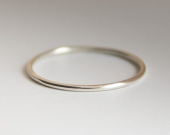 Ultra Thin Ring Spacer, 1mm Ring Band, Ring Divider, Spacer Ring, Ring Guard, Thin Stacking Ring, Handmade from .925 Sterling Silver