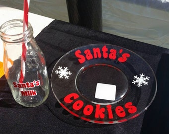 Santa's Cookies and Milk