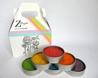 Rainbow Play Dough Set