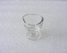 Antique Old Vintage Medical Glass EYEWASH EYE CUP