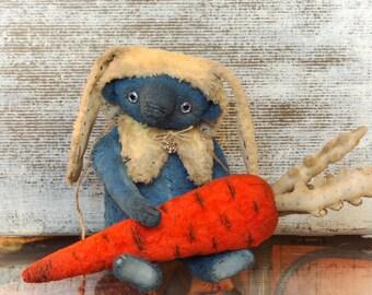 Marcus  (ooak author teddy bear, artist teddy bear, vintage bear)