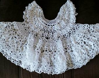 Lovely Crochet Lace Baby Dress