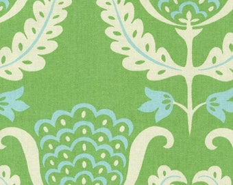 One Wish Fabric - Whimsical Flowers Fabric - Upholstery Drapery Fabric By The Yard