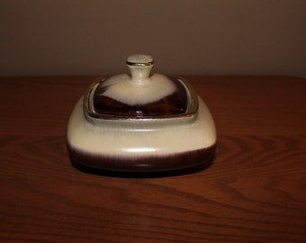 Vintage German Pottery Covered Dish
