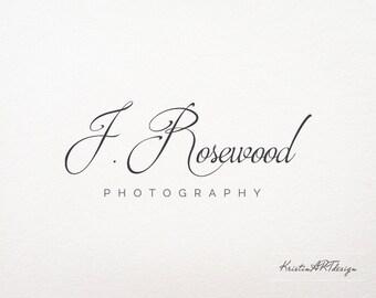Hand-written logo, Premade logo design, Photography logo, Signature, Elagant logo, Simple logo design, Watermark 165