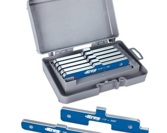 Kreg PRS3400 Precision Router Table Set Up Bars, Set of 7