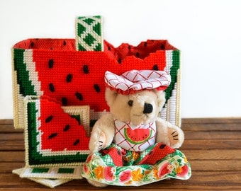 watermelon basket set