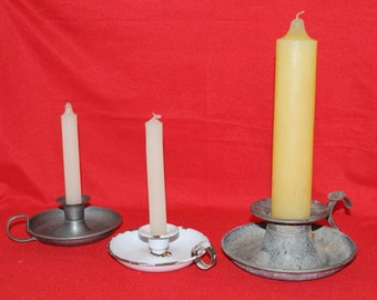 A Selection of French Candle holders