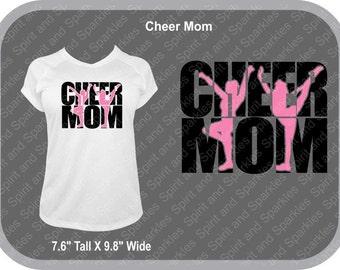 Cheer Mom T-Shirt, Tank or Hoodie