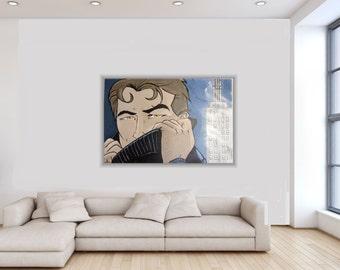 Mystery Man, Cartoon face, bande-dessinée, toile ludique