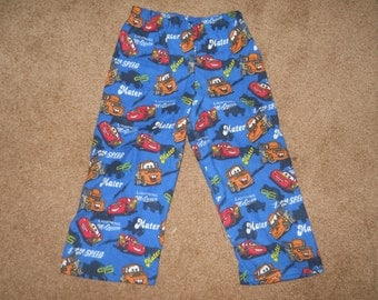 "Disney's ""Cars"" Flannel PJ Pants Sz XS"
