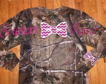 Southern raised camo shirt!