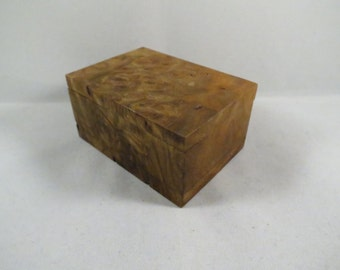 Walnut Burl Box #B67