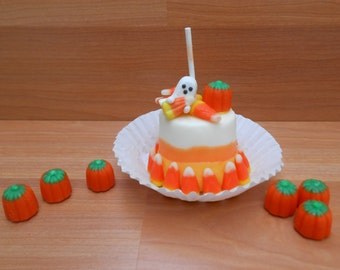 Candy Corn Marshmallow Pops ~ 1/2 Doz, 1 Doz or 2 Doz options available