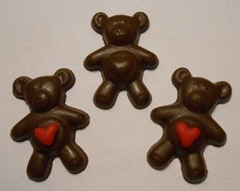 Milk Chocolate Teddy Bears