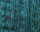 MERINO PENCIL ROVING ideal for Spinning, Felting and Weaving. Unspun pin-drafted Merino Wool Combed Top, Spruce by Living Dreams, 4oz