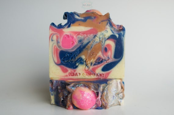 Bubble Gum Bar Soap From Eliza Jane Soap Co