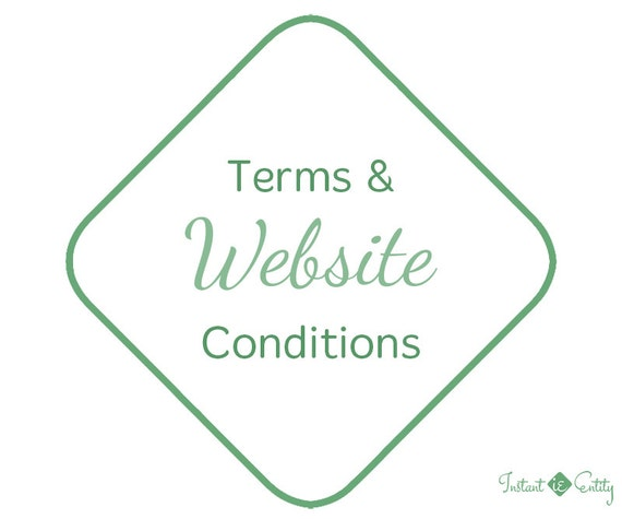 Terms and Conditions Page | Terms of Service | Terms of Use | Website Add-On | Wix Website | WordPress Website Upgrade | Privacy Policy