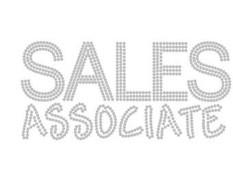 Sales Associate Rhinestone Shirt