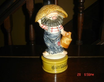 Little Brown Jug Music Box Musical Figure with Little Brown Jug