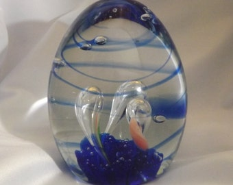 Glass Paperweight ~ Avita Inc. Handcrafted Crystal Collection ~ Paperweight