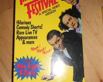 Classic Three Stooges VHS Tape/ Never Opened