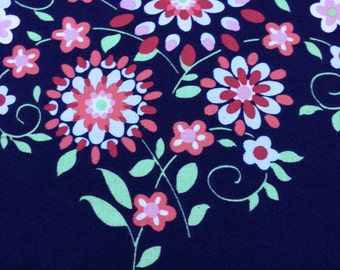 ONLY .75 YARDS LEFT Amy Butler Love Collection Memento for Westminster Fabrics AB53 Color Midnight