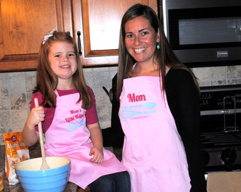 Mother Daughter Matching Aprons