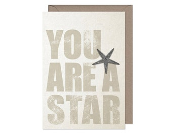 You are a Star - Greeting Card