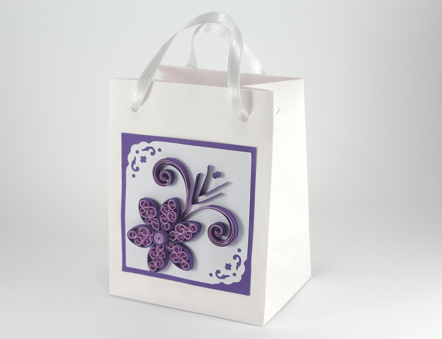 100 Wedding Favor Bags with Handles by stoykaspaperie on Etsy