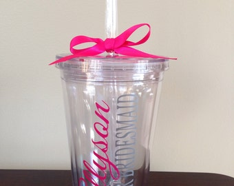 Personalized Tumbler for Junior Bridesmaid