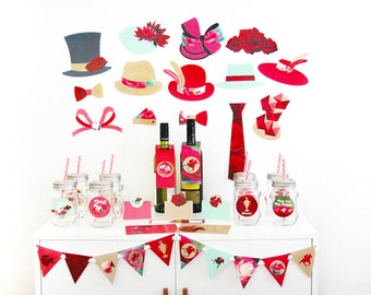 Derby Day Party Decorations, Horse Racing Party Decorations, Photo Booth Props Printable | INSTANT DOWNLOAD