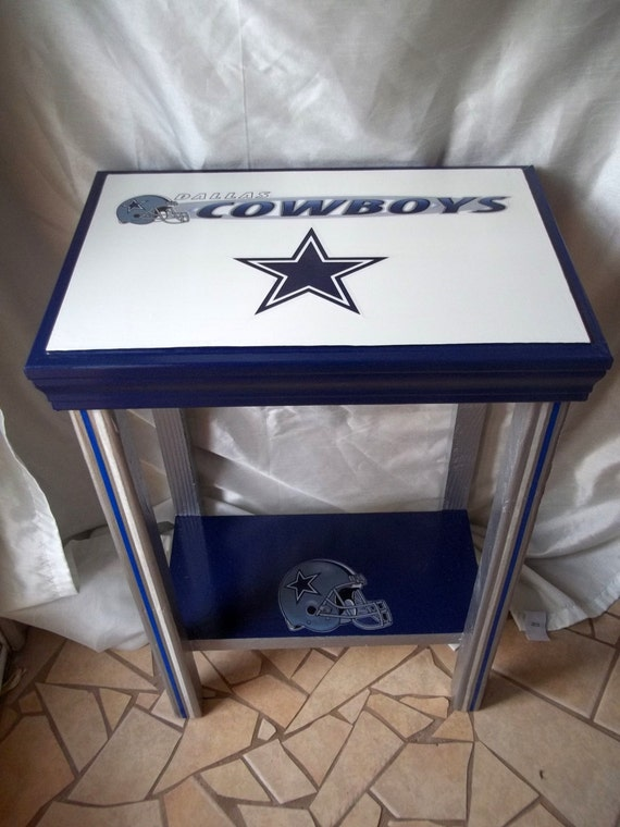 Dallas Cowboys Man Cave Accessories : Items similar to dallas cowboys inspired sports table