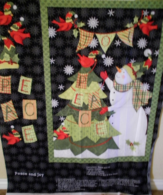 Items similar to snowman christmas tree cardinals large
