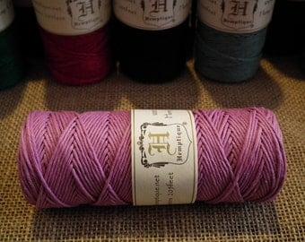 Lumière rose Hemptique chanvre cordon 1mm 20lb plein grand 50 g Roll 62,5 mètres (205) - couleur unie - perles en macramé bijoux ficelle fil fournitures