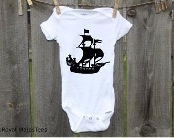 Pirate Ship Onesies®, Pirate Baby Shower