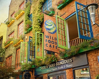 London Photography, Colorful Windows, Neal's Yard, Kitchen Decor, Travel Photography, Fine Art Photo, Covent Garden