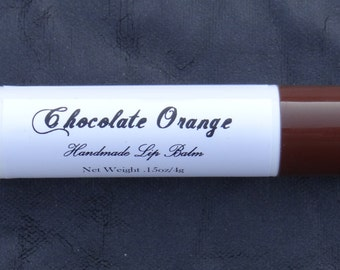Beeswax Lip Balm, Chocolate Orange, Handmade