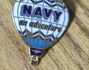 Navy recruitment pin