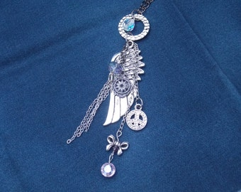 Charm Necklace Wing  N6
